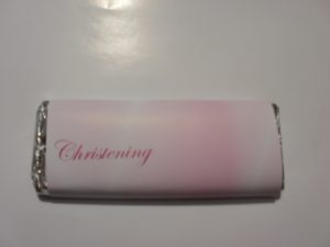Christening personal chocolate