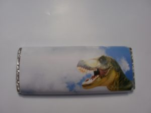 Dinosaur Birthday Choc Bar